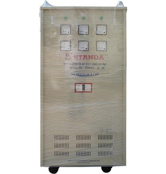 Ổn áp standa 150kva dải 160v-430v