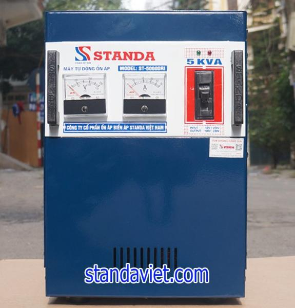 Ổn áp standa 5kva DRI dải 50v-250v hàng chuẩn nhất hiện nay