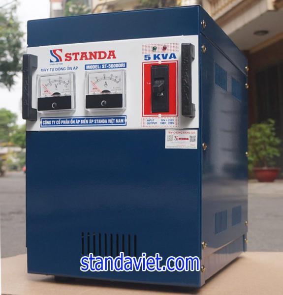 Ổn áp standa 5kva dải 50v-250v hàng chuẩn của Công ty