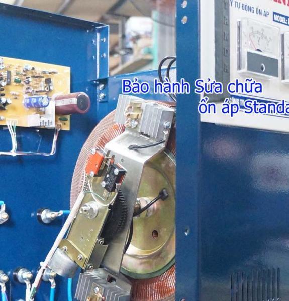 Bảo hành sửa chữa ổn áp standa 7,5kva chuẩn của Công ty