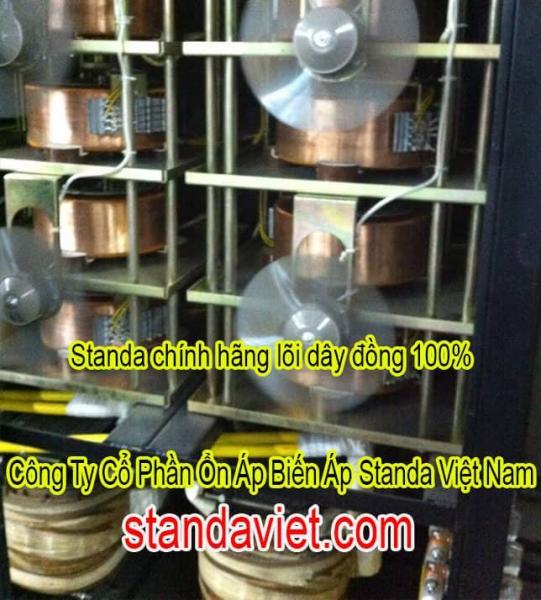 Ổn Áp Standa 200kVA Lõi Đồng 100%