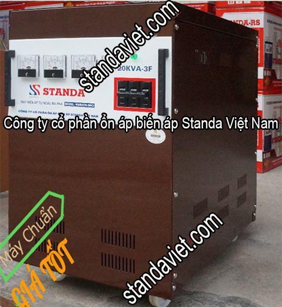 Biến áp Standa 20kVA chính hãng dây đồng 100%
