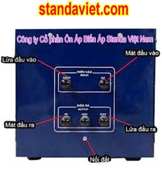 Lắp đặt standa 7,5kva đúng quy trình kỹ thuật va an toàn