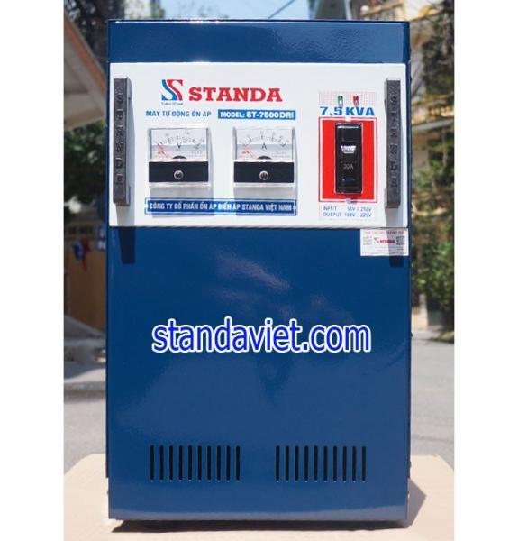 Ổn áp standa 7,5kVA DRI dải 50V-250V hàng chuẩn