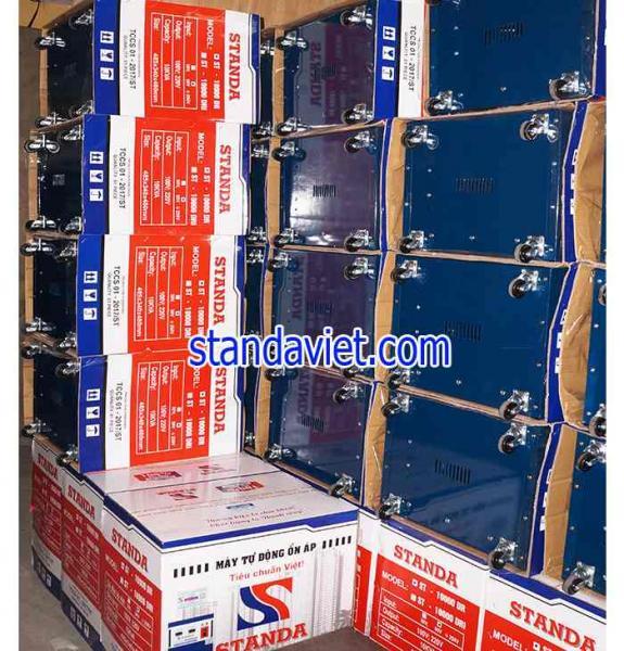 Ổn áp standa 10kva DR dải 90v-250v loại tốt