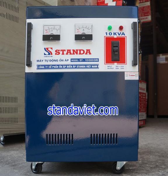 Ổn áp standa 10kva DRI dải 50v chính hãng của Công ty