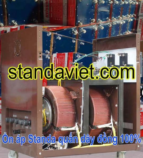 Ổn áp standa 20kVA dải 90V-250V