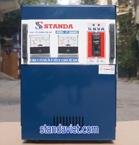 Ổn áp standa 5kva dải 50v-250v hàng chuẩn nhất hiện nay