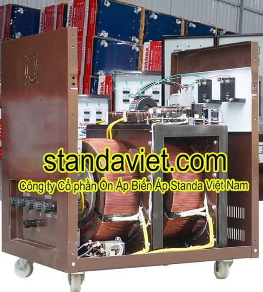 Ổn áp Standa 20kvadây đồng 100% chính hãng Công ty Cp Ổn Áp Biến Áp Standa Việt Nam