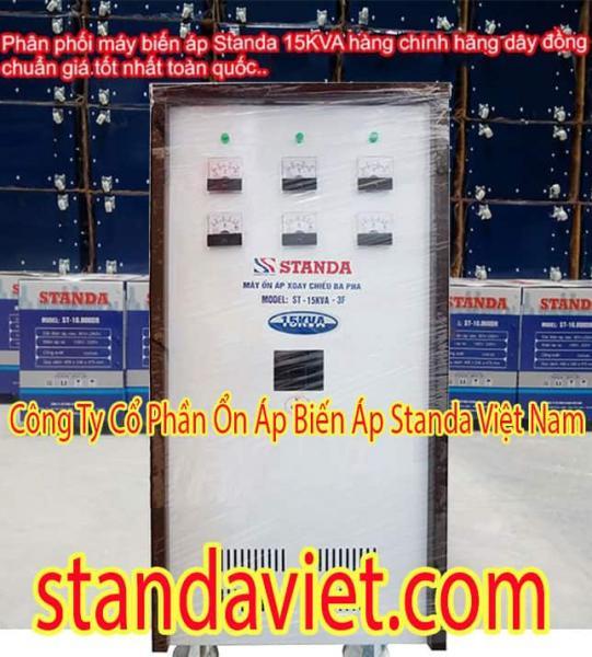 Standa 15KVA 3 Pha Dây Đồng 100% Chính Hãng
