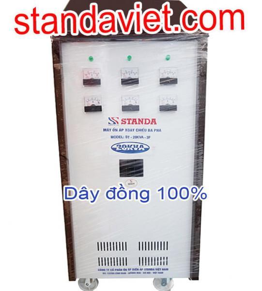 Ổn áp Standa 20KVA 3 pha chuẩn chính hãng Công ty Cổ phần Ổn Áp Biến Áp Standa Việt Nam
