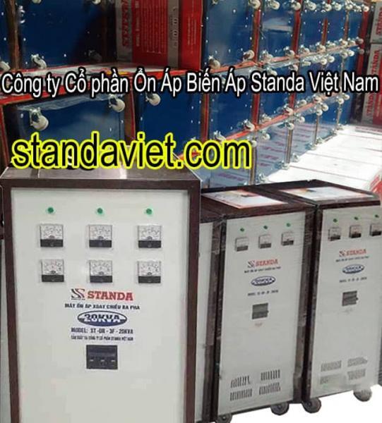 Standa 20kva 3 pha dây đồng 100% chính hãng Công ty Cp Ổn Áp Biến Áp Standa Việt Nam