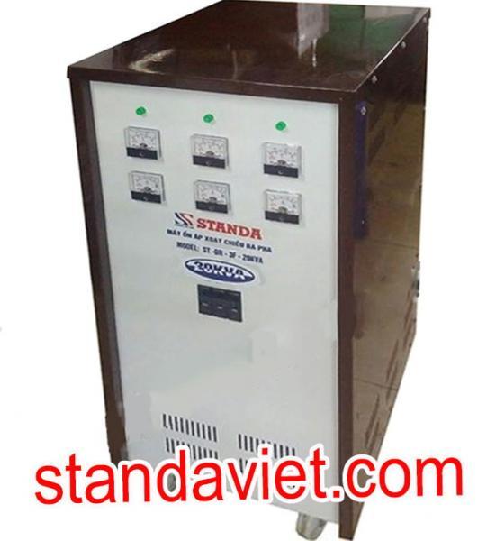 Ổn áp Standa 20KVA 3f dải 260v-430v chính hãng Công ty Cp Ổn Áp Biến Áp Standa Việt Nam