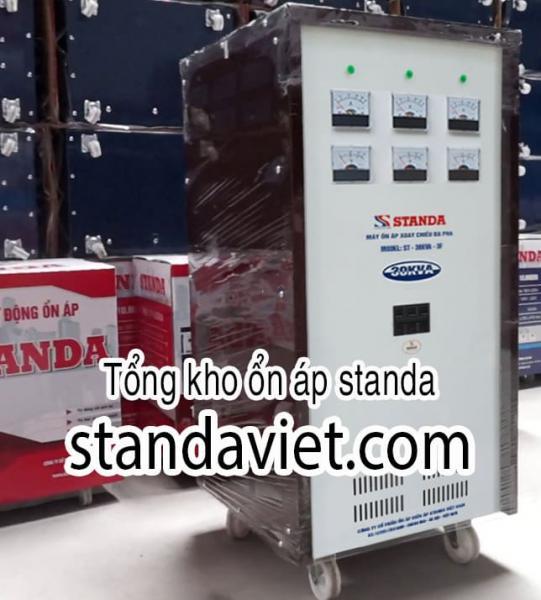 Standa 30KVA 3 Pha Dây Đồng 100% Chính Hãng