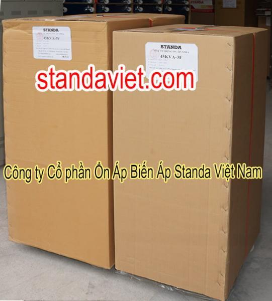 Standa 45KVA 3 pha chuẩn chính hãng Công ty Cp Ổn Áp Biến Áp Standa Việt Nam